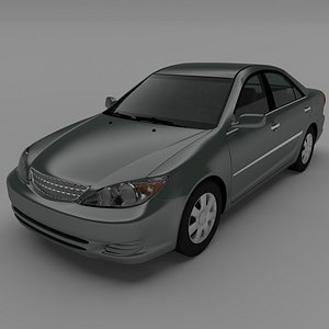 2004 sedan 3D