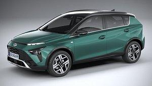 Hyundai Bayon 2022 3D
