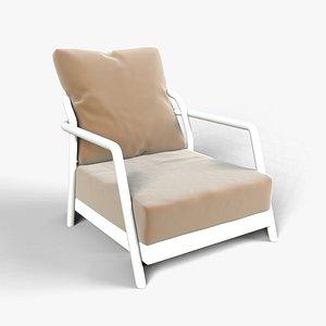 Modern Garden Chair 3D model