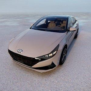 Hyundai Elantra 2021 3D model