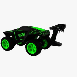 RC ToyC car  with Control System 3D model