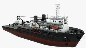 Offshore Support Vessel Mercury Star 3D model