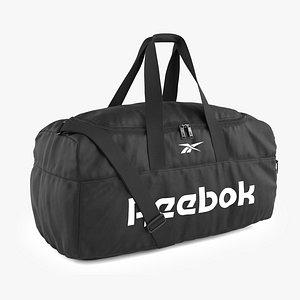 Reebok Active Core Grip Bag Black 3D model