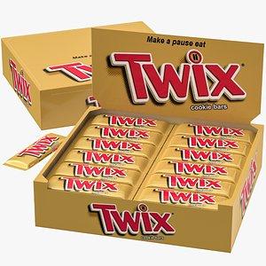 3D box twix model
