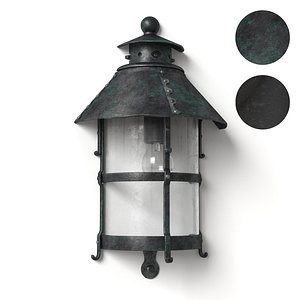 outdoor lamp 3D