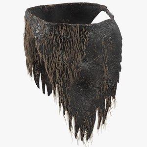 3D rag loincloth fur clothes