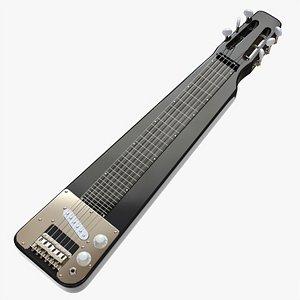 Lap steel guitar 3D model
