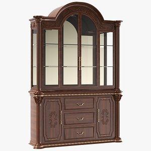Wooden Dining Cabinet Cupboard 3D model
