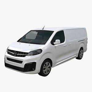 3D Opel Vivaro L3 2021