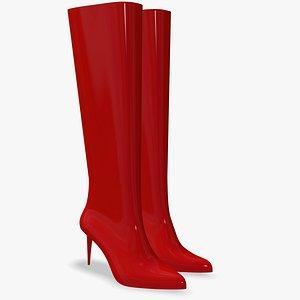 3D Women Boots High Heels