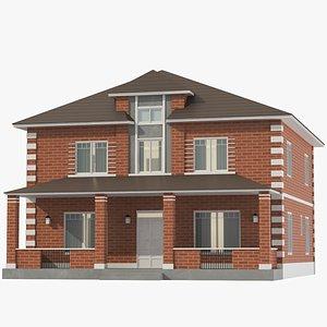 Classic House 07 3D model