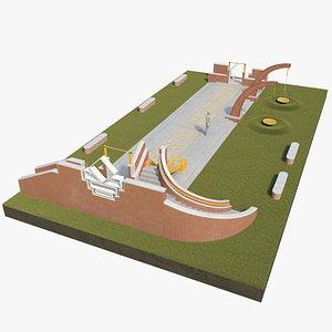 3D Kids playground2