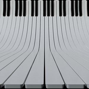 keyboards background scene key 3D