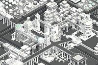 SCIFI STATION - Low Poly 3D Art Construction Kit