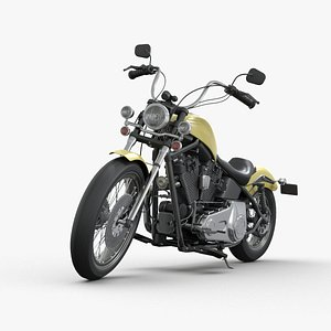 3D Motorcycle generic model