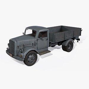 3D benz war 2 truck model