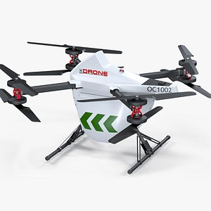 3D cargo delivery drone