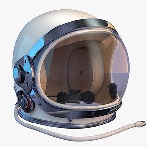 3D mercury space helmet