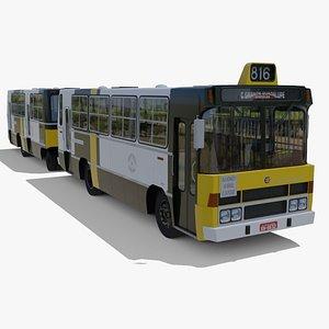 Onibus Marcopolo Sanremo Romeu e Julieta MB 1113 Oriental 3D model