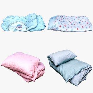 bedclothes bedding model