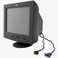 CRT PC Monitor