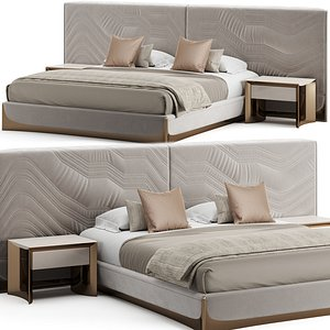 3D Visionnaire Ca'Foscari Bed model