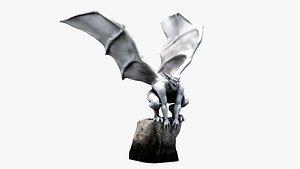 3D gargoyle sculpture
