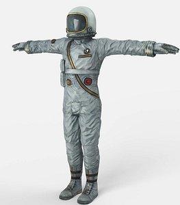 astronaut fallout 3D model