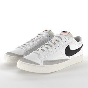 Nike Blazer Low 77 Vintage PBR 3D model