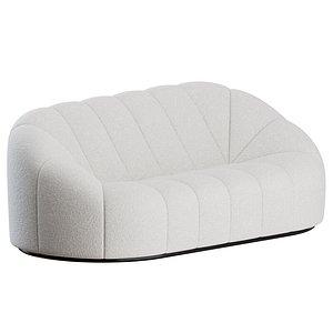 Alpha 2 Seater Sofa by Pierre Paulin model