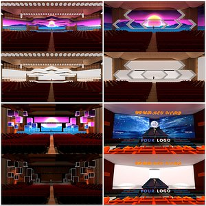 3D Conference Center COLLECTION
