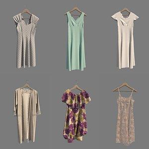 hanger dress 3D model