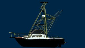 3D petes boat