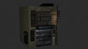 3D Ghetto  Apartment model