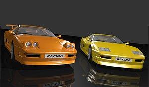 Classic Sports Car 3D