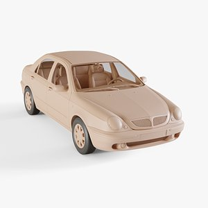 3D 1999 Lancia Lybra model