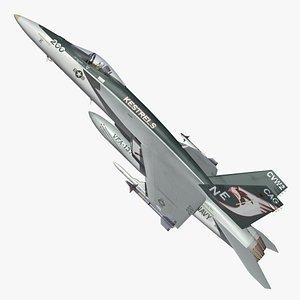 F18 Super Hornet Kestrels 3D model