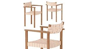 motif armchair form refine 3D model