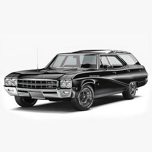 Buick Sport Wagon 1969 model