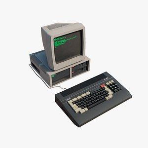 Soviet  personal computer 3D model