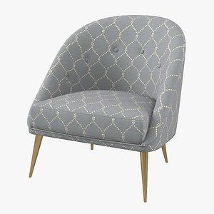 3D koket nessa armchair