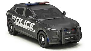 3D Car Police 6