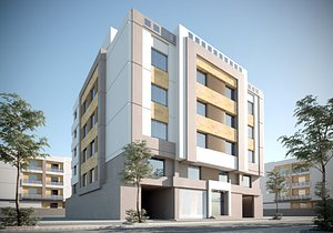 building apartment 3D model
