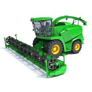 3D Combine Harvester V33