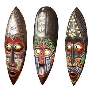 3D masks africa african