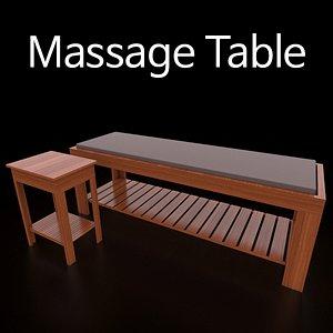 MassageTable model