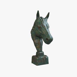 Sculpture Horse V1 3D model