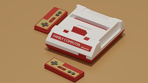 Nintendo Family Computer Famicom 3D
