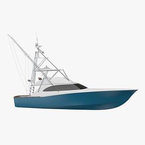 sport fishing model