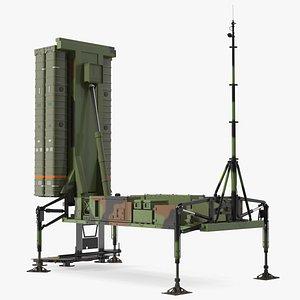 3D SAMP-T Armed Position model